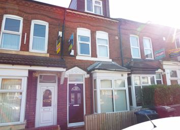 Thumbnail 7 bed terraced house for sale in Exeter Road, Selly Oak, Birmingham