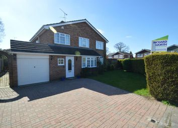Thumbnail 4 bedroom detached house for sale in Woodrow Drive, Wokingham