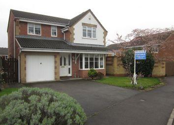 Thumbnail 4 bed detached house for sale in Monteigne Drive, Bowburn, Durham