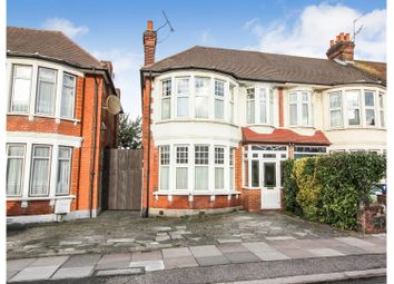 Thumbnail 3 bedroom end terrace house for sale in Berkshire Gardens, Palmers Green