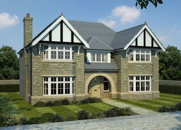 Thumbnail 5 bedroom detached house for sale in Woodlands, Calverley Lane, Leeds, West Yorkshire