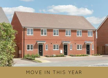 "Thumbnail 3 bed terraced house for sale in ""The Gosfield"" at Main Street, Grendon Underwood, Aylesbury"