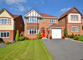 Thumbnail 4 bed detached house for sale in Lodge Wood Close, Chorley