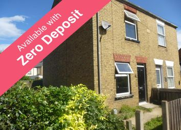 Thumbnail 2 bedroom semi-detached house to rent in Burrowmoor Road, March
