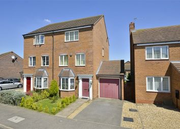 Thumbnail 4 bed semi-detached house for sale in Nash Close, Corby, Northamptonshire