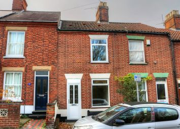 Thumbnail 3 bedroom terraced house for sale in Silver Road, Norwich