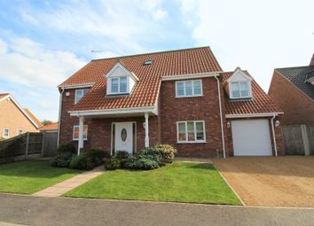 Thumbnail 5 bed detached house for sale in Mulberry Tree Close, Filby, Great Yarmouth