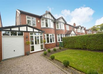 Thumbnail 4 bed semi-detached house for sale in Woodsmoor Lane, Woodsmoor, Stockport, Cheshire
