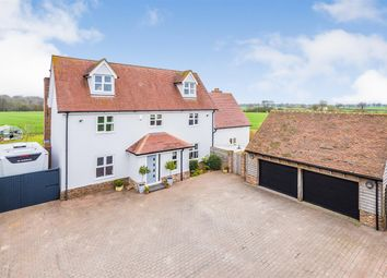 Thumbnail 5 bed detached house for sale in Ipswich Road, Elmsett
