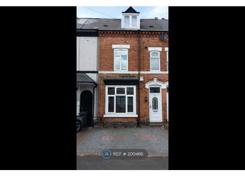 Thumbnail 4 bedroom terraced house to rent in Victoria Road, Birmingham