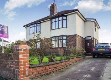 Thumbnail 3 bed semi-detached house for sale in Thelwall New Road, Warrington