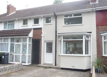 Thumbnail 3 bed terraced house to rent in 143 Old Oscott Lane, Great Barr, Birmingham.