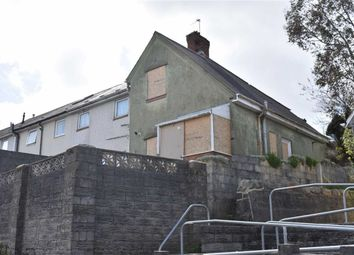 Thumbnail 2 bed end terrace house for sale in Granogwen Road, Swansea