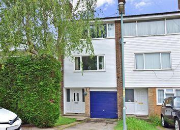 Thumbnail 4 bedroom town house for sale in Beverley Close, Rainham, Gillingham, Kent