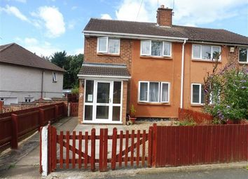 Thumbnail 3 bed property to rent in Ivychurch Crescent, Leicester