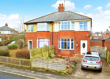 Thumbnail 3 bed semi-detached house to rent in Harlow Park Road, Harrogate
