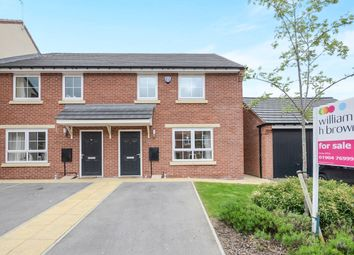 Thumbnail 4 bed town house for sale in Fossview Close, Strensall, York