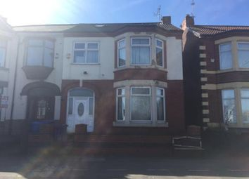 Thumbnail 5 bedroom semi-detached house for sale in 16 Queens Drive, Walton, Liverpool