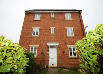 Thumbnail 4 bedroom end terrace house for sale in Capella Crescent, Oakhurst, Swindon