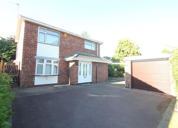 Thumbnail 4 bed detached house for sale in Manor Way, Burbage, Hinckley