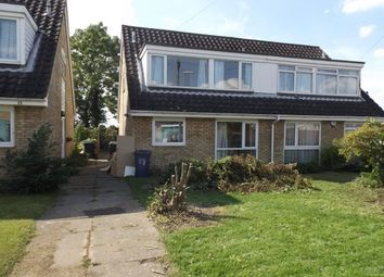 Thumbnail 3 bedroom semi-detached house to rent in Wolsey Way, Cherry Hinton, Cambridge