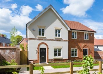 Thumbnail 3 bed semi-detached house for sale in Old Wokingham Road, Crownthorne, Berkshire