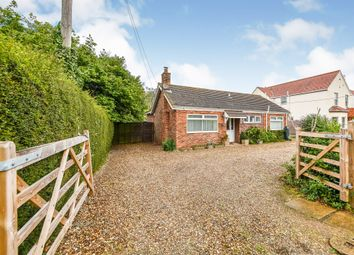 Thumbnail 3 bedroom detached bungalow for sale in Main Road, Holme Next The Sea, Hunstanton