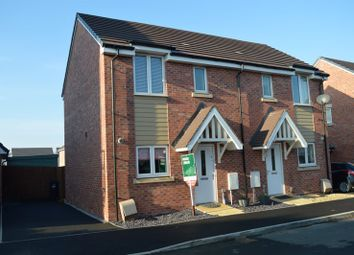 Thumbnail 2 bed semi-detached house for sale in Proctor Drive, Haywood Village, Weston-Super-Mare