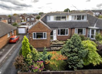 Thumbnail 3 bed semi-detached bungalow for sale in Moorlands Crescent, Huddersfield