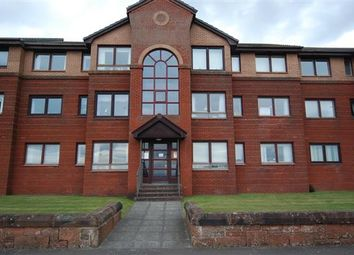 Thumbnail 2 bed flat for sale in Montgomerie Crescent, Saltcoats