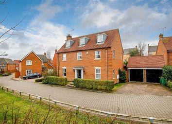 Thumbnail 5 bed detached house for sale in Tiverton Crescent, Kingsmead, Milton Keynes, Buckinghamshire