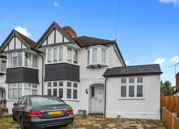 Thumbnail 3 bedroom semi-detached house for sale in Seaforth Gardens, Stoneleigh, Epsom