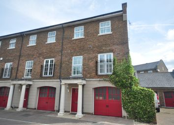 Thumbnail 4 bed town house to rent in Capability Way, Greenhithe