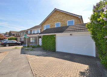 Thumbnail 4 bedroom detached house for sale in Penman Close, Chiswell Green, St. Albans