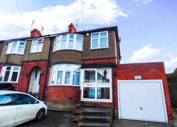 Thumbnail 3 bed terraced house to rent in St. Pauls Road, Luton