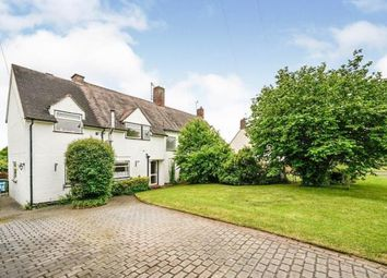 Thumbnail 3 bed semi-detached house for sale in Middle Lane, Cropthorne, Near Pershore, Worcestershire