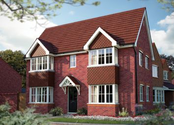 "Thumbnail 3 bed detached house for sale in ""The Sheringham"" at Weaver Brook Way, Wrenbury, Nantwich"