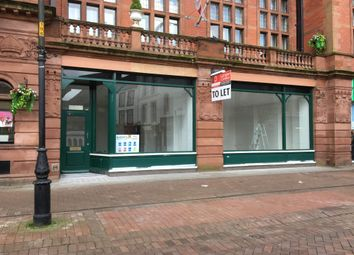Thumbnail Retail premises to let in English Street, 2/4, Carlisle