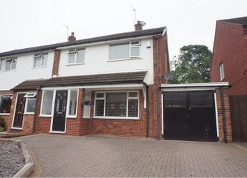 Thumbnail 3 bed semi-detached house for sale in Wissage Road, Lichfield