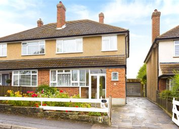 Thumbnail 3 bed semi-detached house for sale in Beech Road, Epsom, Surrey