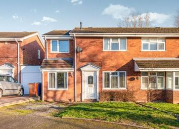 Thumbnail 4 bed semi-detached house for sale in Coppermill Close, Hednesford, Cannock, Staffordshire