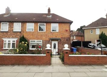 Thumbnail 3 bed semi-detached house for sale in Utting Avenue, Liverpool, Merseyside