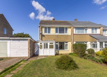 Thumbnail 3 bed semi-detached house for sale in Yarborough Close, Godshill