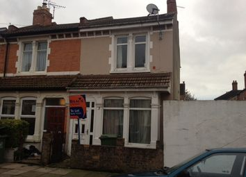 Thumbnail 4 bed end terrace house to rent in Bramshott Road, Southsea