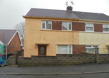 Thumbnail 2 bedroom end terrace house to rent in Heol-Y-Foelas, Bridgend, Bridgend.