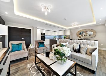 Thumbnail 3 bed flat for sale in Chandos Way, Hamstead Reach