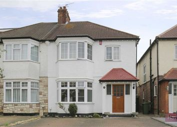 Thumbnail 3 bed semi-detached house for sale in Percy Road, Winchmore Hill, London