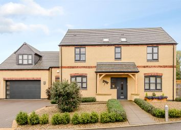 Thumbnail 4 bed detached house for sale in Glebe Close, Stoney Stanton, Leicestershire