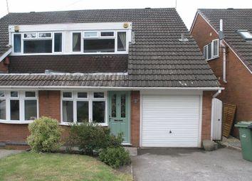 Thumbnail 3 bed semi-detached house for sale in Whitestone Road, Halesowen