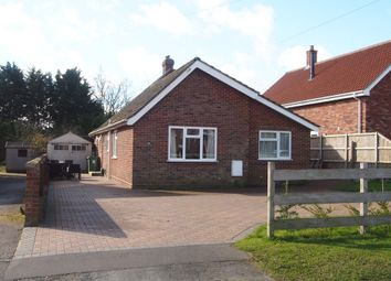 Thumbnail 3 bed detached bungalow for sale in Browick Road, Wymondham